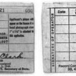 1945 Violet Clark Illinois Driver's License, Carrollton, Illinois