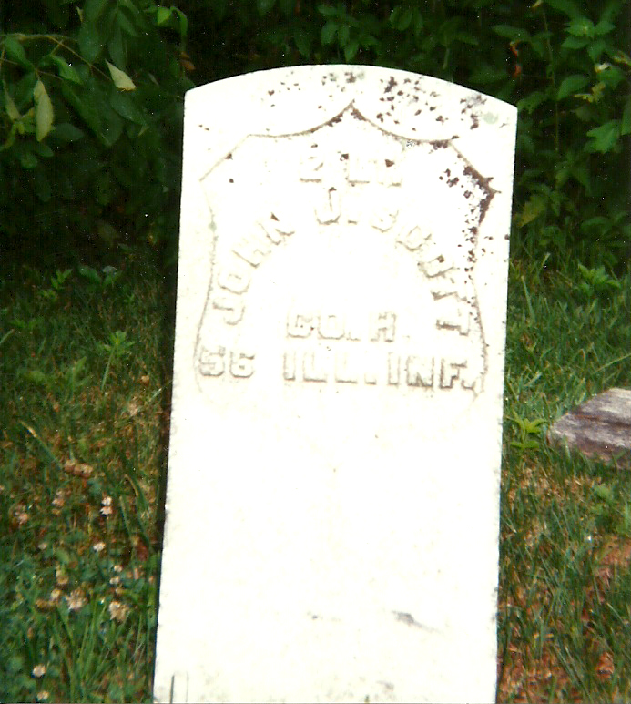 John Scott (Son of William Scott)Tombstone