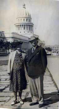 O. H. and Belle Vivell, Havana, Cuba