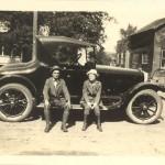 O.H. & Bell Vivell in Grays Mills WI, September 1921