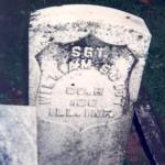 Sgt William Scott (John's Brother) Gravemarker