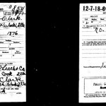 U.D. Clark WWI Draft Registration