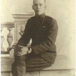 Victor Clark in uniform 1918