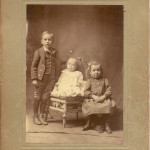 Victor, Leta and Mae Clark