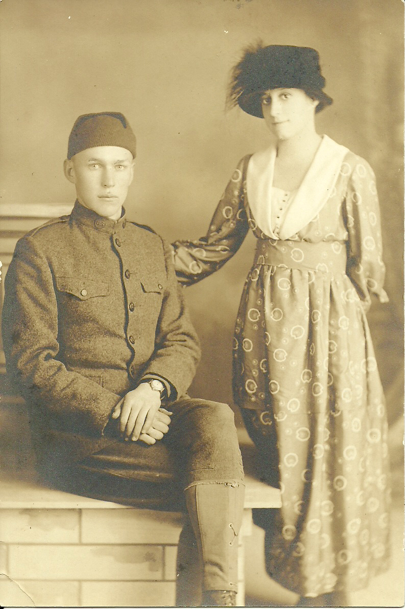 Victor & Violet Clark 1918
