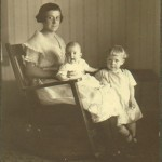Violet, Kathleen and Marge Clark