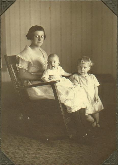 Violet, Kathleen and Marge Clark