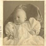 Violet Vivell Clark 3 months old