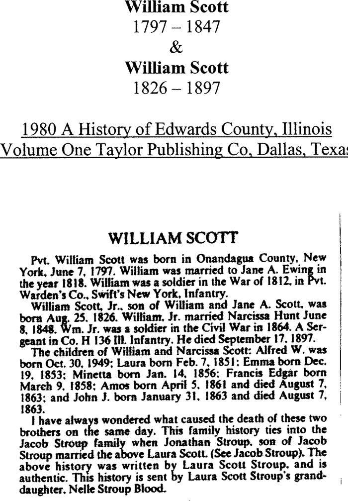 William Scott - Father and Son