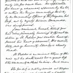 May 3, 1862 Headquarters Letter on F. P. Vedder