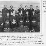 Rev. Daniel Bassett Leach Family