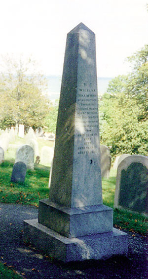 William Bradford Grave Site