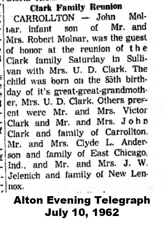 Clark reunion 1962