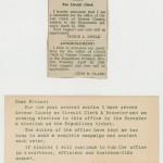 John Clark political announcement 1956