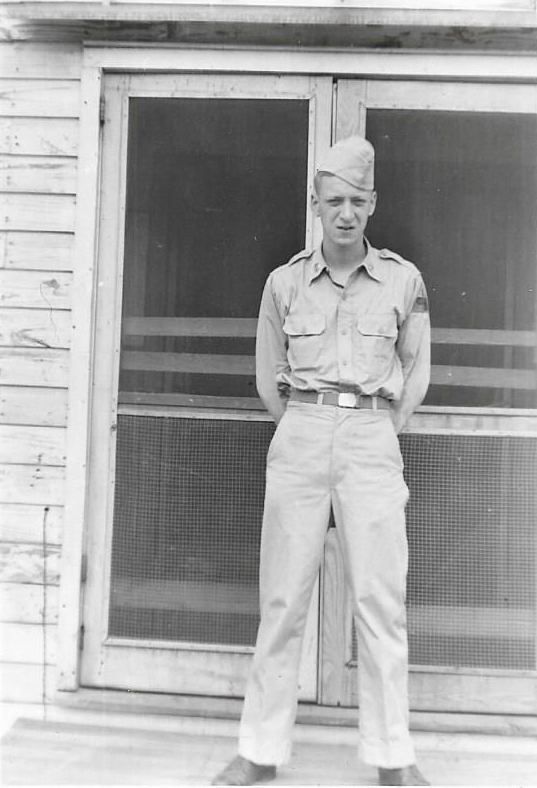 John R. Clark in Army Uniform