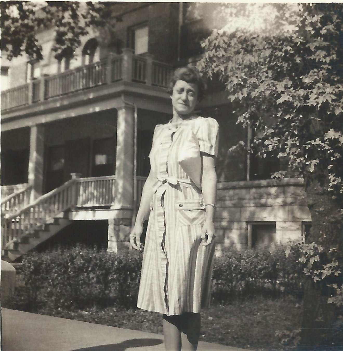 Violet Vivell 1941 in Joliet, IL