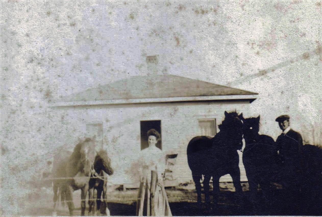 Alfred Clark Homestead in Alberta, Canada