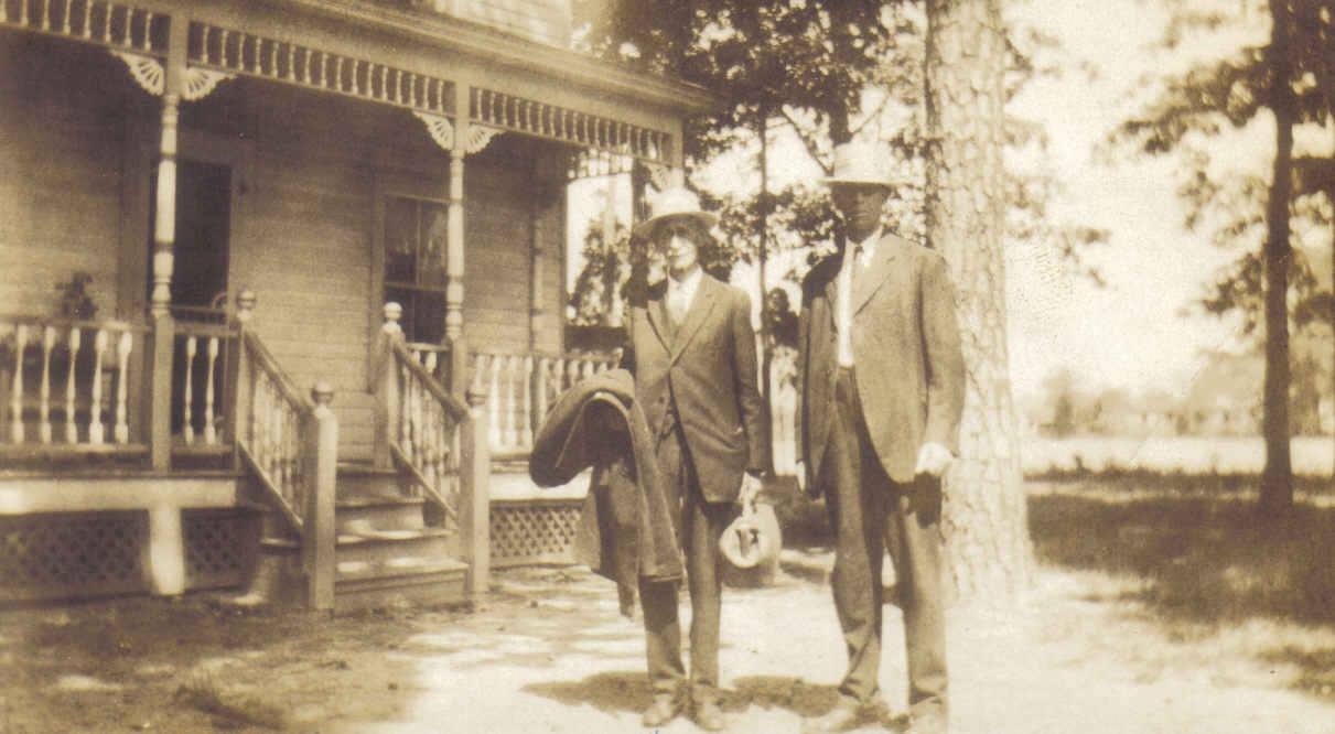 Image from Shepard Family Tree on www.geni.com, Elias Clark jr. and Alfred Clark