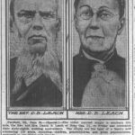 Daniel and Lois Leach, 68th anniversary, Chicago Daily Tribune