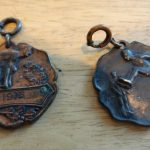 Victor Clark track medals