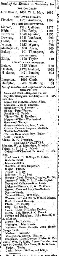 Illinois Weekly State Journal Springfield, Illinois August 13, 1836